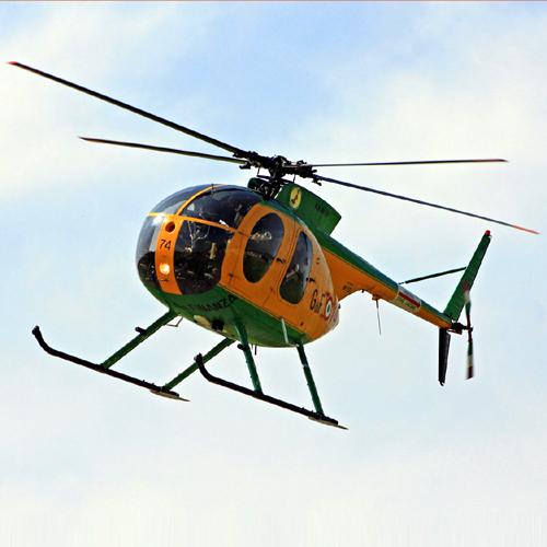 Elicottero Nh500 : Cade elicottero della guardia di finanza nel tarantino