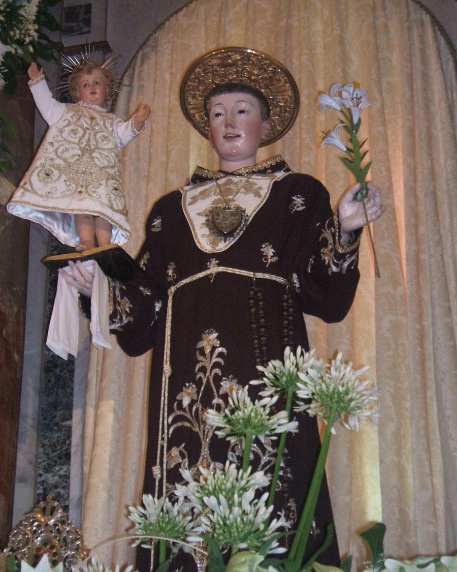 Amaroni, martedì festa solenne in onore di Sant'Antonio