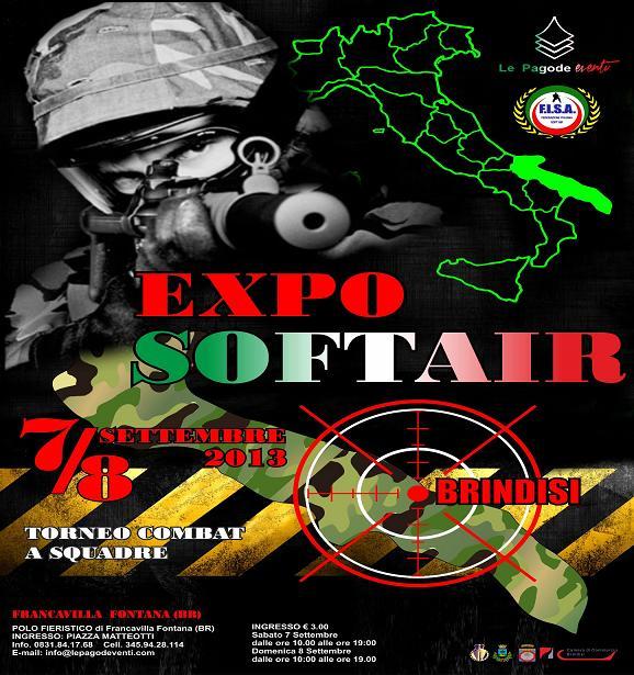 Expo del Soft air a Francavilla Fontana