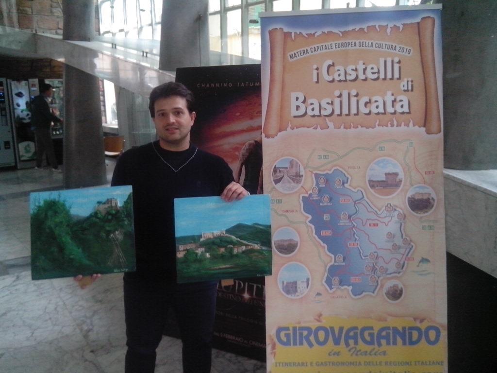Artista Valerio Daddiego    Castelli di Basilicata in cartapesta