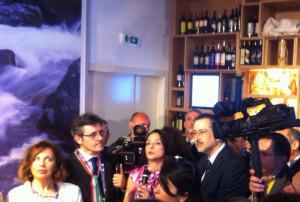Presidente Pittella e Patrizia Minardi   Expo 2015