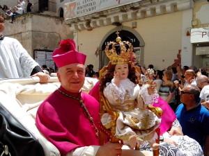 Monsignor Ligorio e Bambinello