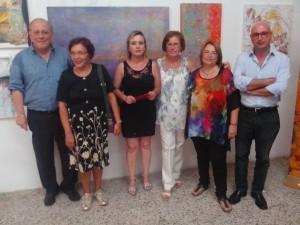 Mostra di pittura Albano Delmonte 2