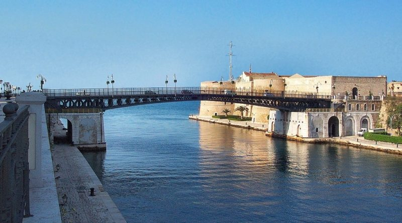 La città di Taranto tra le candidate ai Giochi del Mediterraneo 2025