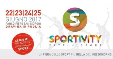 La 1° Edizione della Fiera SPORTIVITY a Gravina in Puglia