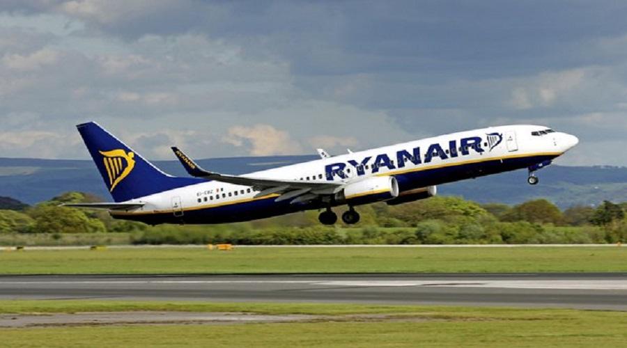 Sciopero degli aerei, Ryanair