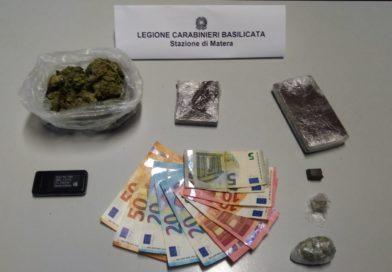 Matera: sorpreso in casa con quasi 500grammi di droga, 32enne arrestato dai carabinieri