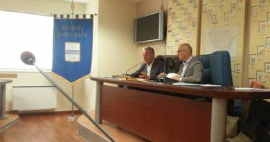 """""""Stato di avanzamento dei lavori per il collettamento delle acque bianche nel territorio del comune di Pisticci"""""""