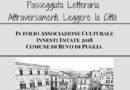 A Ruvo di Puglia (Ba): Attraversamenti. Leggere la Città. La Passeggiata letteraria