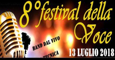 """Venerdì 13 luglio, torna il """"Festival della voce – Tenuta la Volpe"""""""
