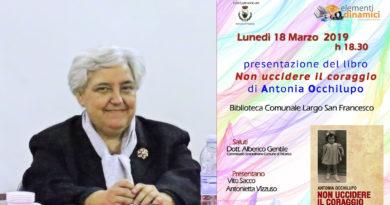 Presentazione del libro di Antonia Occhilupo a Tricarico