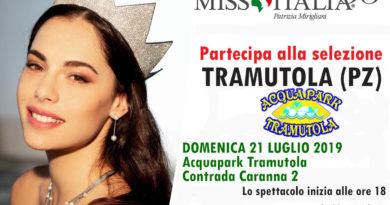 Miss Italia in Basilicata, prima finale all'Acquapark di Tramutola (Pz)
