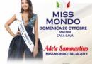 A Matera, il 20 ottobre, nuova tappa di Miss Mondo Basilicata