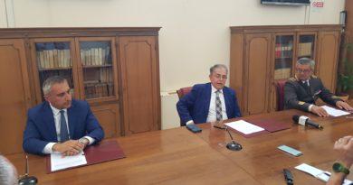 Convenzione siglata tra Provincia di Matera, Prefettura e Vigili del Fuoco