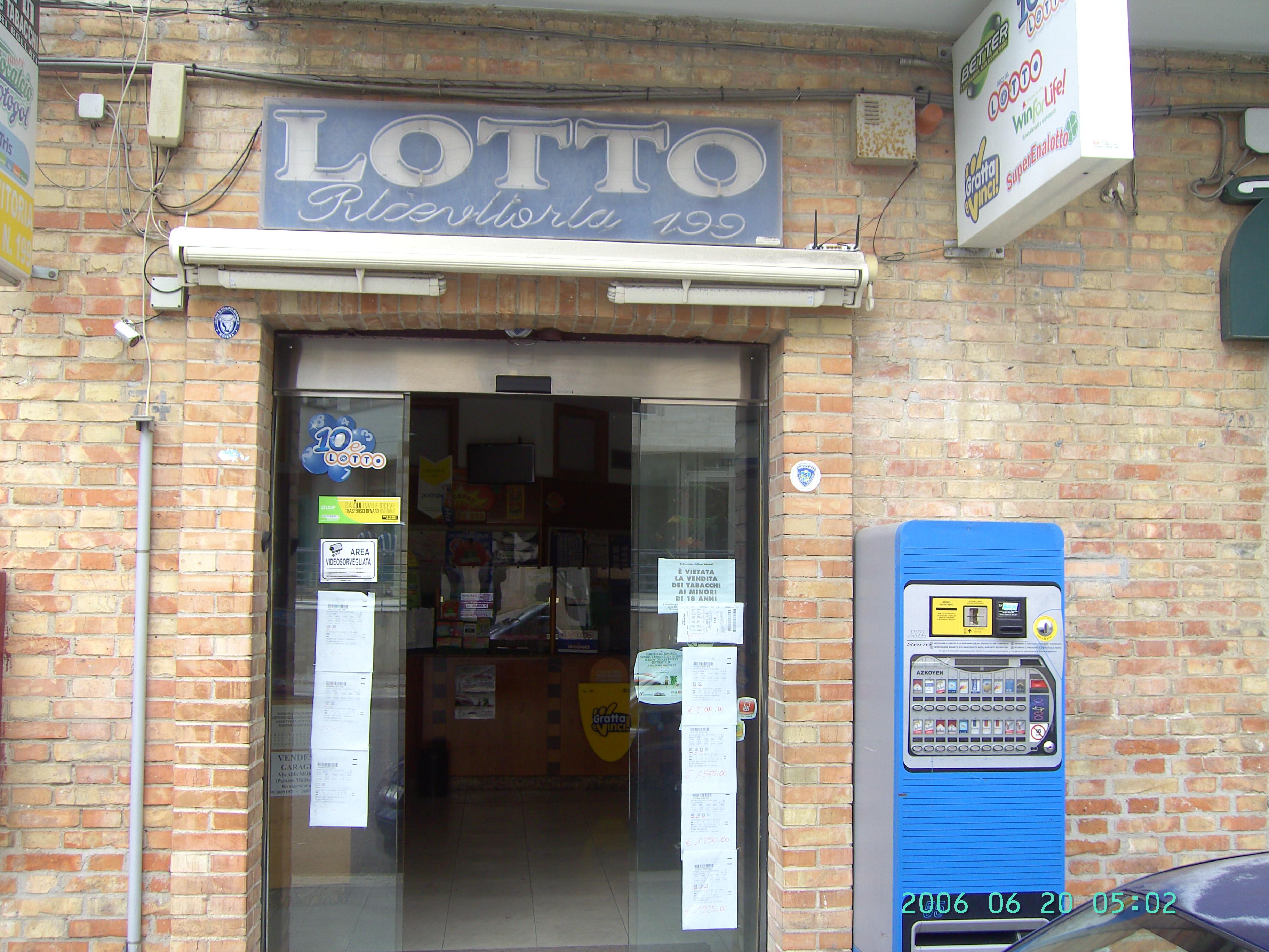 A Matera, vincita da 25.800 euro al SuperEnalotto