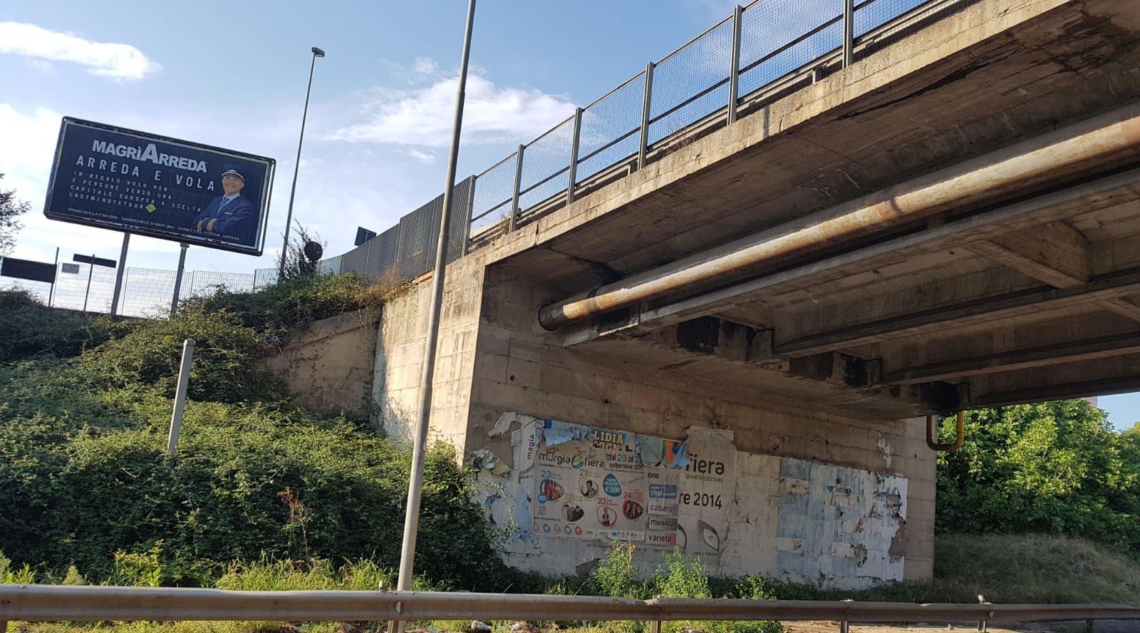 Matera monitoraggio di ponti e cavalcavia sulla strada for Magri arreda matera
