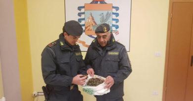 Lauria (PZ): Nell'auto 120 gr di marijuana, arrestati