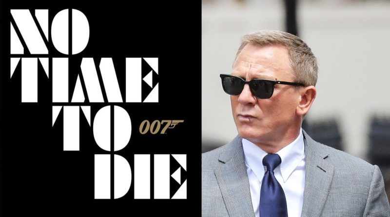 """Rinviata a ottobre l'uscita del film """"No time to die"""""""