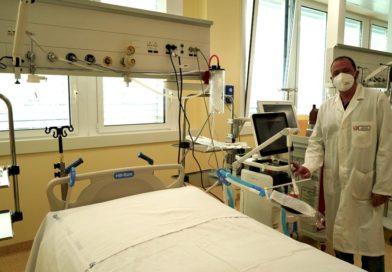 """Potenziamento della rete ospedaliera. Attivati sedici posti di terapia intensiva respiratoria Covid al Dea """"V. Fazzi"""" di Lecce"""