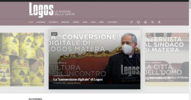 Lunedì 25 gennaio alle ore 10, presso l'Episcopio in Piazza Duomo a Matera la presentazione del nuovo giornale diocesano Logos