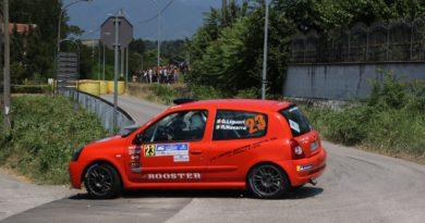 Coppa rally CI Sport di classe N3 e Under 25, è volata a due tra Pisacane e Liguori per i titoli di categoria settima zona