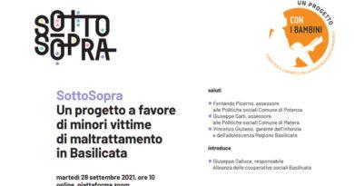 SottoSopra, in Basilicata un progetto per contrastare il maltrattamento dei minori