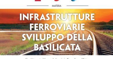 """Cgil, Cisl e Uil di Matera hanno organizzato un Incontro pubblico sulle """"Infrastrutture ferroviarie per lo sviluppo della Basilicata"""". Oggi, alle ore 17:30 presso la Sala della Camera di Commercio di Matera"""